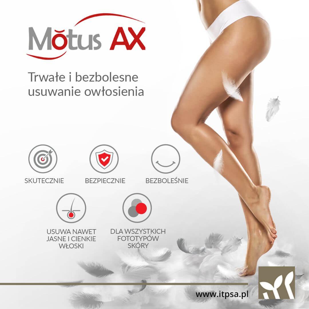 Epilacja - depilacja laserowa Motus AX Warszawa Wilanów Revival Clinic