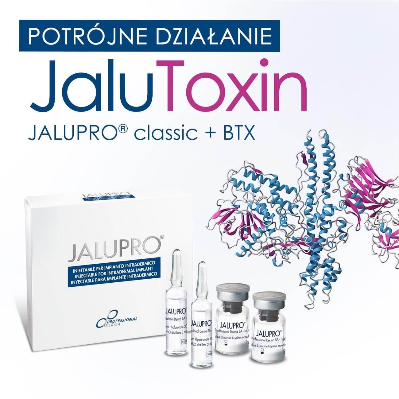 JaluToxin Warszawa potrójne działanie aminokwasy toksyna botulinowa