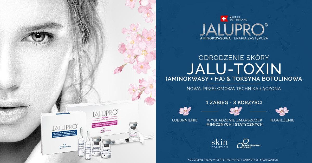 Jalu toxin stymulatory tkankowe Warszawa Revival Clinic